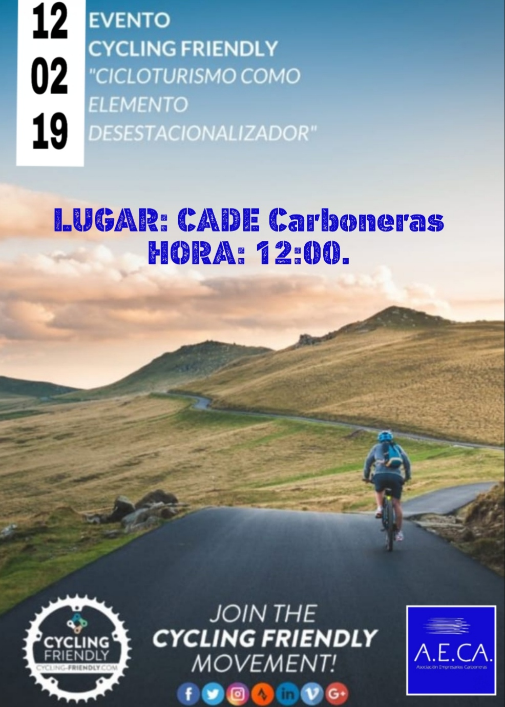 Evento Cycling friendly